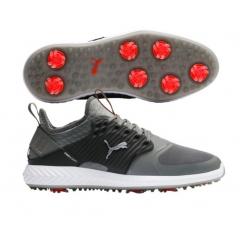 Puma Ignite PWRADAPT Caged Dark Gray Golf Shoes