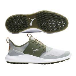 Puma Ignite NXT Gray/Green Golf Shoes