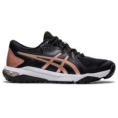 Asics Gel-Course Glide Black/Gold Women's Golf Shoes